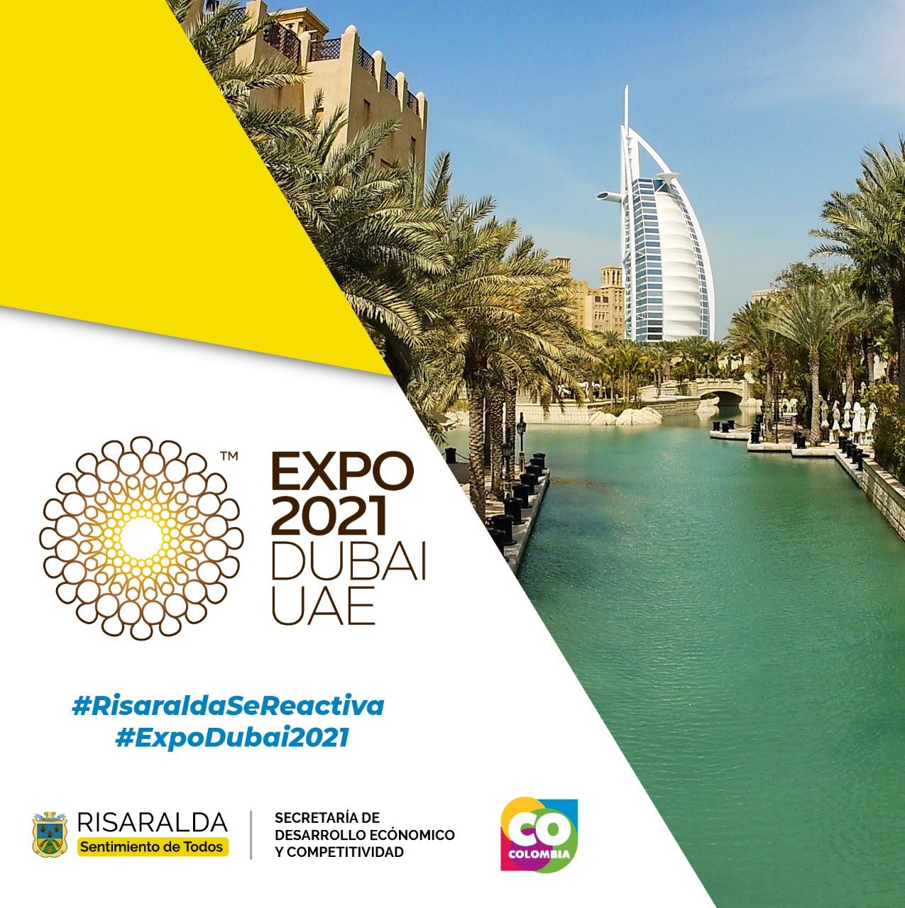 Risaralda busca hacer historia en Expo Dubái