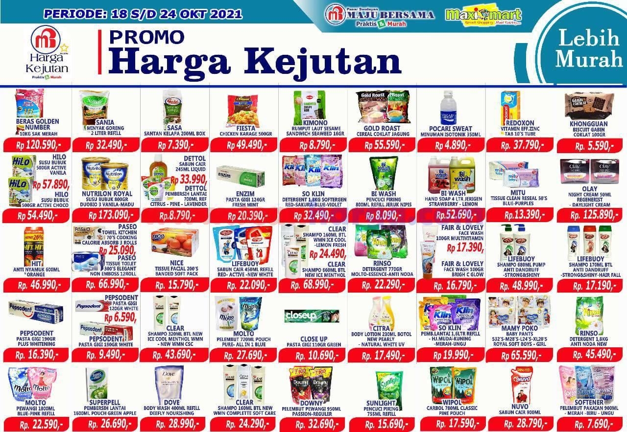 Katalog Promo Maximart Pasar Swalayan 18 - 24 Oktober 2021