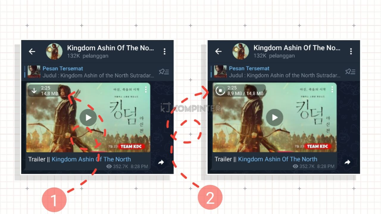 Download Film di Telegram dengan Mudah