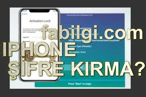 iPhone İos Şifre Kilit Kırma Programı Bedava İndir, Tanıtım Jailbreak