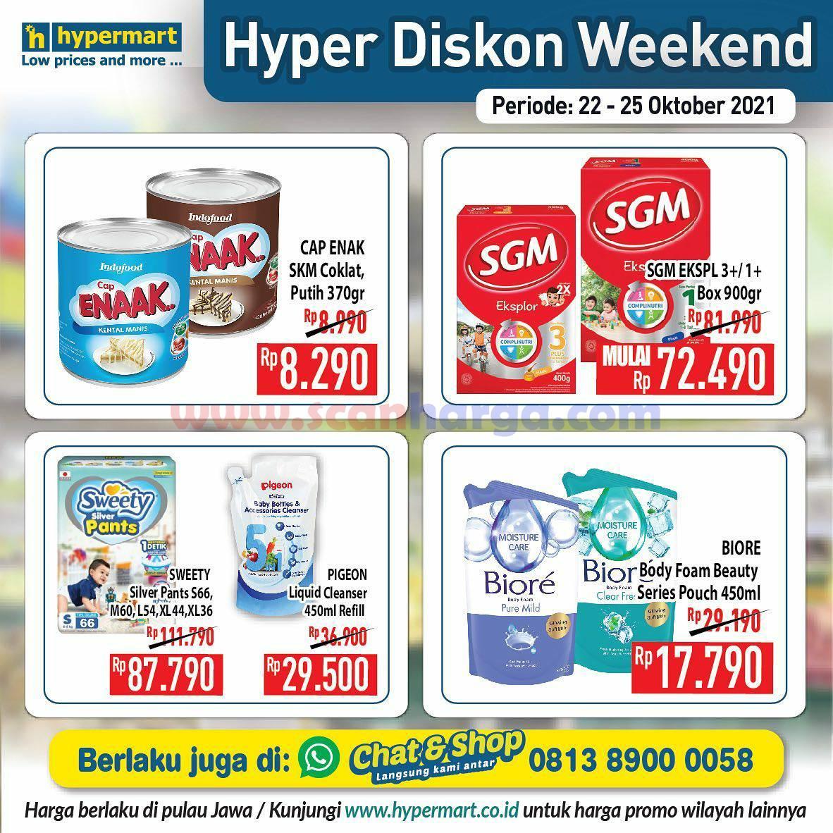 Promo Hypermart Weekend Terbaru 22 - 25 Oktober 2021 8