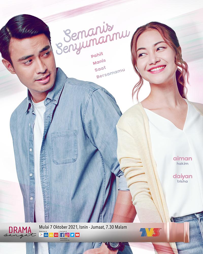 Drama Semanis Senyumanmu TV3