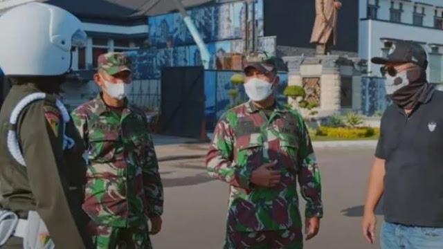 Bawa Mobil Perang TNI, Youtuber Terkenal Disetop Polisi Militer