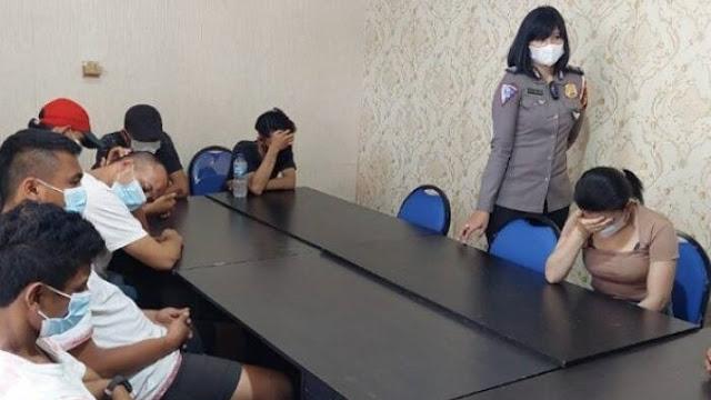Bukannya Merazia, Oknum Satpol PP di Pekanbaru Justru Booking PSK, Dikeroyok 6 Pria