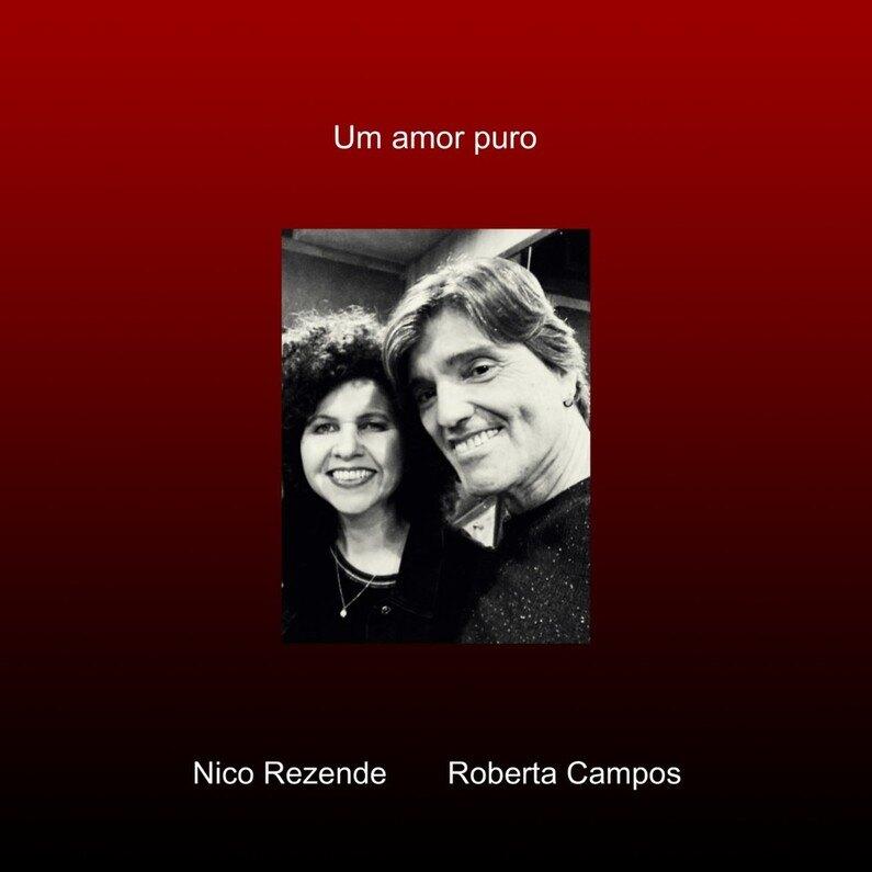 """A primeira parceria entre Nico Rezende e Roberta Campos, """"Um Amor Puro"""", nasceu da forma mais pura, musical e espontânea possível. A canção é lançada em 13 de outubro e fica disponíveis nas plataformas digitais de áudio."""