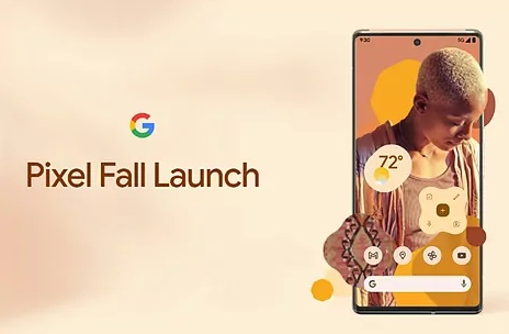 GOOGLE PIXEL 6   Google will launch its new mobile on October 19