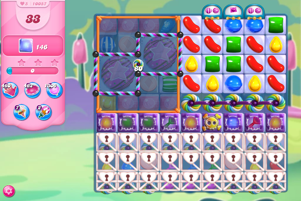Candy Crush Saga level 10057