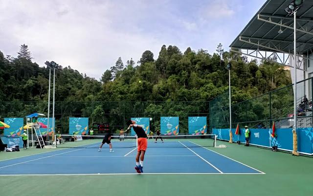 Jawa Timur Borong Nomor Ganda di Final Tenis Lapangan PON XX.lelemuku.com.jpg