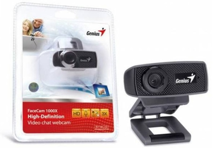 Webcam Genius Facecam 1000X V2 720P giá rẻ học online