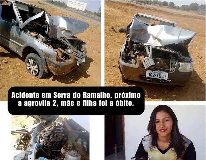 Serra do Ramalho-BA: Motorista envolvido no acidente que matou mãe e filha é preso acusado de homicídio culposo ao volante