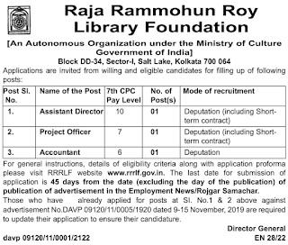 RRRLF Recruitment 2021