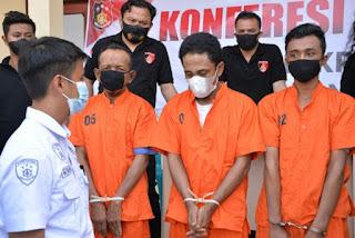 Tiga Pemuda Ditangkap, Karena Diduga Perkosa Tiga Anak