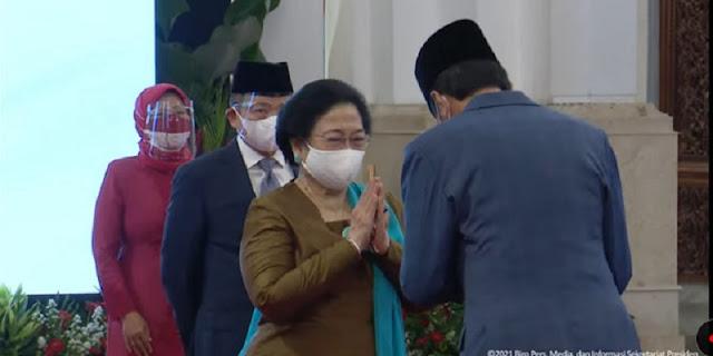 Dipimpin Jokowi, Megawati Soekarnoputri Ikrar Sumpah Jabatan Ketua Dewan Pengarah BRIN