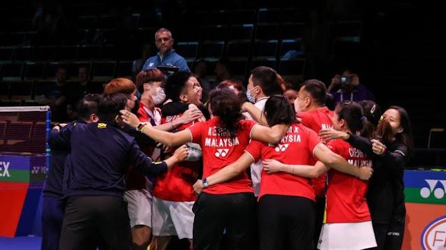 Indonesia Takluk dari Malaysia, Pertama dalam Sejarah Piala Sudirman