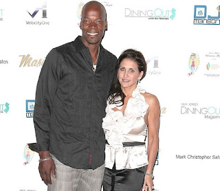 Cliff Robinson with his wife Heather Lufkins