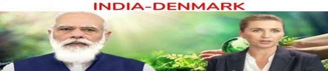 India-Denmark Strike Four Agreements, Stress On 'Green Strategic Partnership'