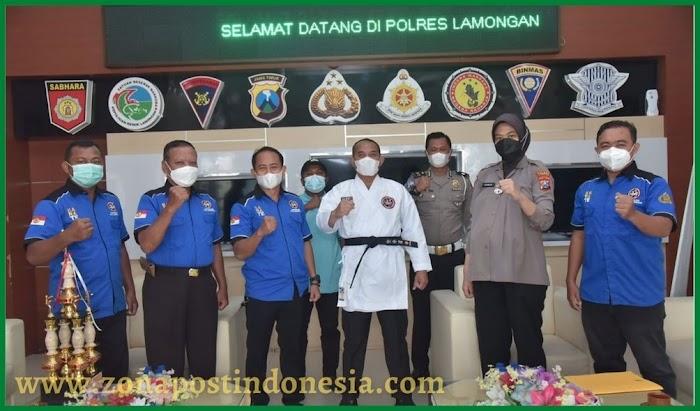Jalin Silaturahmi Dengan INKANAS, Kapolres Lamongan Tekankan Pentingnya Jaga Sportivitas Dan Fair Play