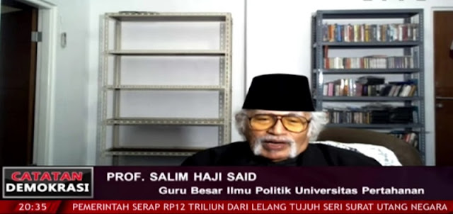 Komunisme Sudah Tak Laku di Negara Lain, Prof Salim Said: Yang Terjadi di Indonesia adalah Dendam Anak-anak PKI
