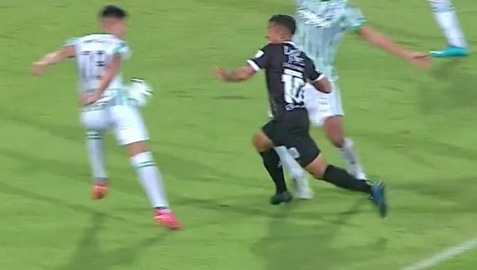 ¿Fue penal? Expertos arbitrales apoyaron la decisión del juez Carlos Ortega, en la victoria de Atlético Nacional ante Cali