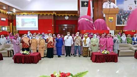 Pertemuan Bulanan GOW Kota Pariaman