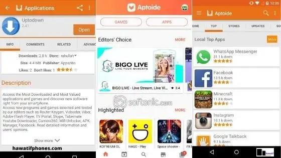 أفضل بديل لـ Google Play هو Aptoide Android