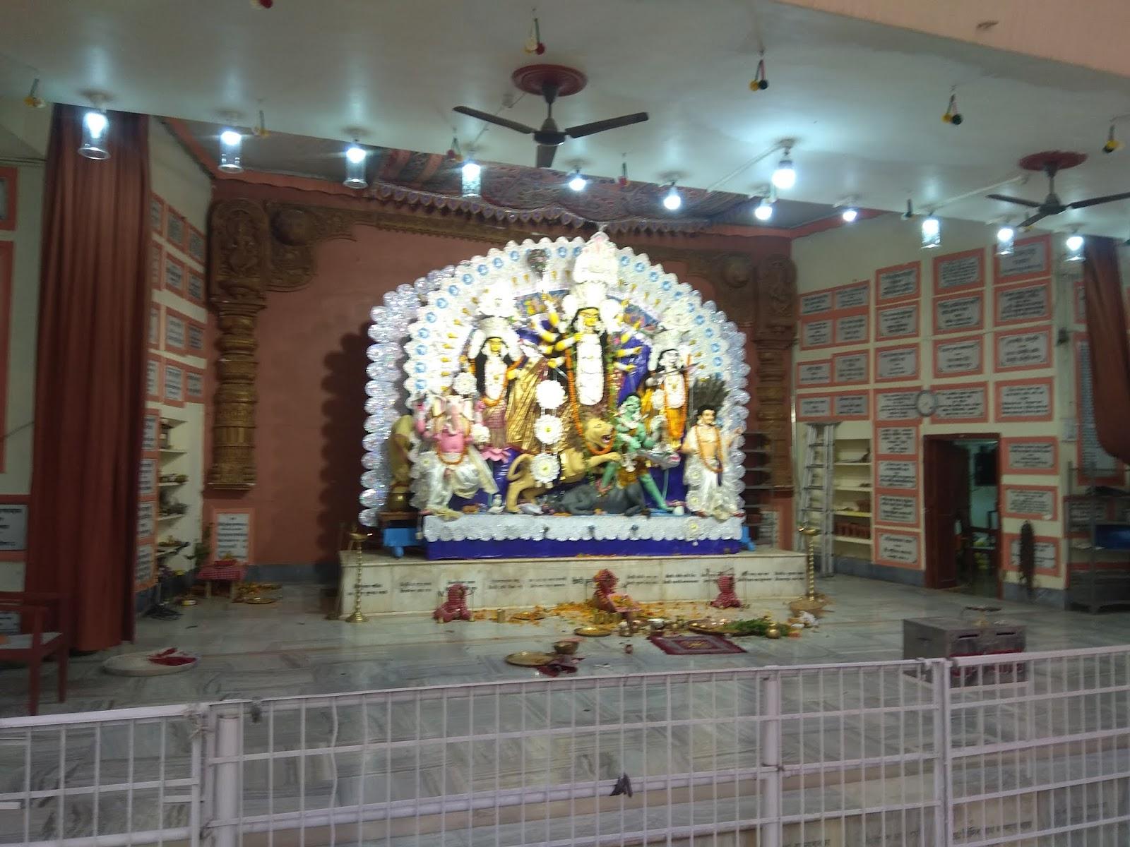 Durga Puja Pandal in Patna, Bihar