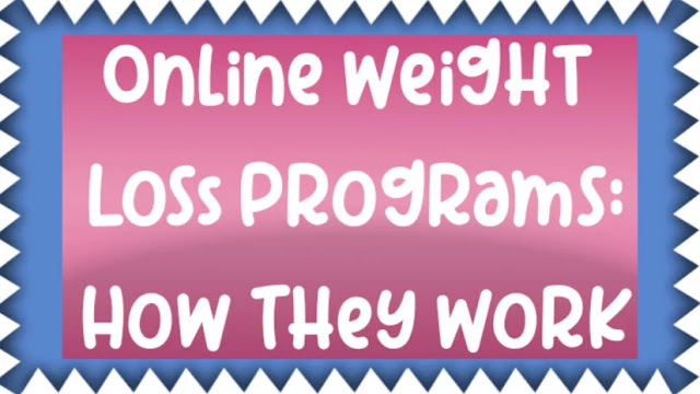 Online Weight Loss Programs: How They Work