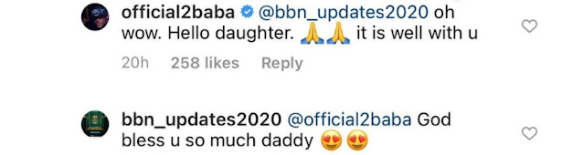 2face reacts as lady claims to be his daughter from Enugu state