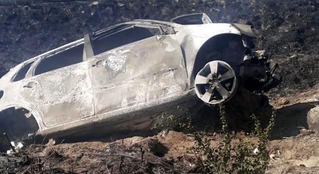 Mulher morre carbonizada em acidente de carro na BR-222, no Ceará
