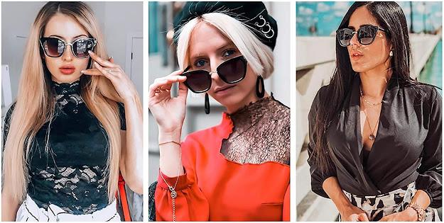 Fashion Designer Retro Vintage Sunglasses
