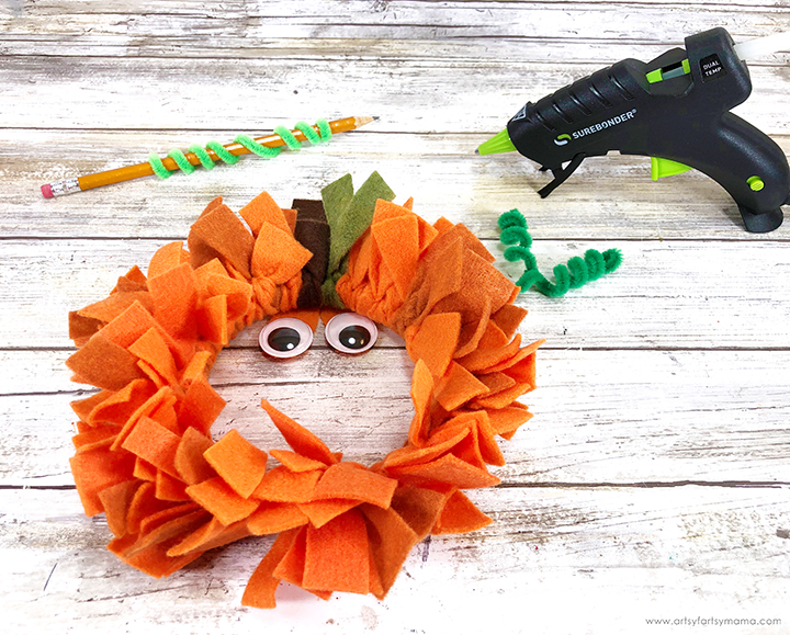 Pipe Cleaner with Glue Gun