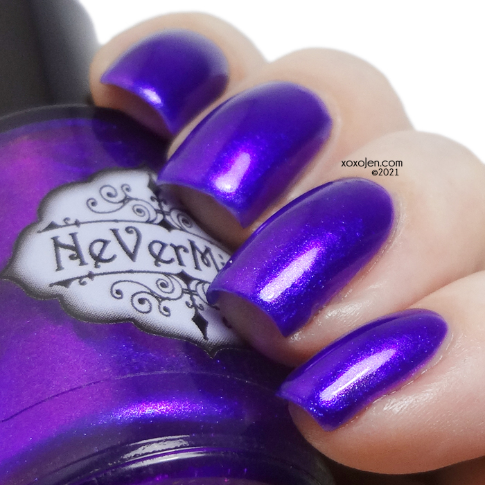 xoxoJen's swatch of Nevermind Warning Adult Content