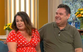 Picture of Tony Maudsley with his on-screen wife