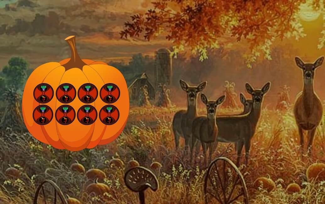 WowEscape Halloween Pumpk…