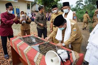Gubernur Al Haris Resmikan Asrama Datuk Aza Ma'Had Futuhul Mu'arif