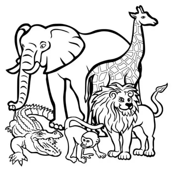 Printable October Coloring Pages PDF for Kids