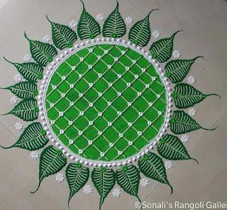 Circular Rangoli Designs