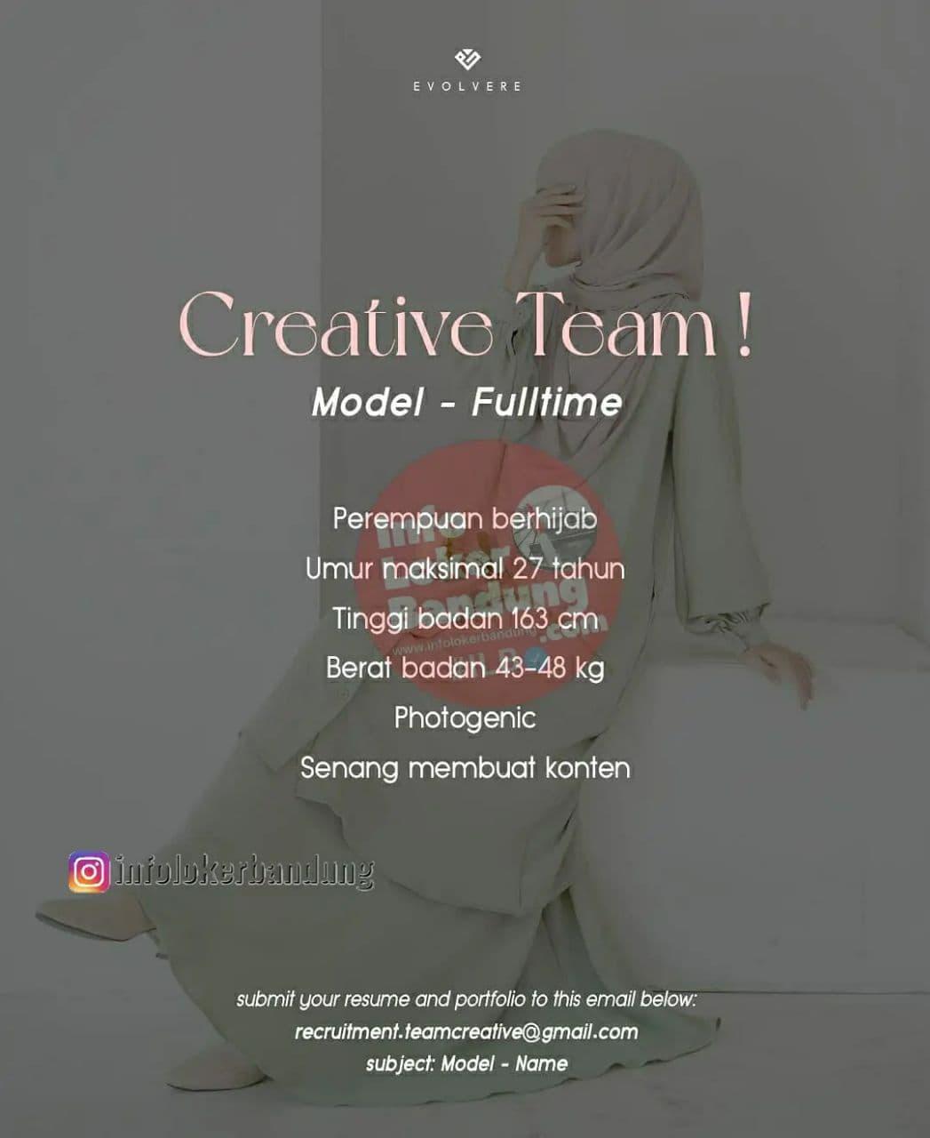 Lowongan Kerja Evolvere Bandung Oktober 2021
