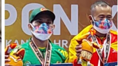 Bupati Bangga, Atlet Wushu Toba Raih Perak PON Papua