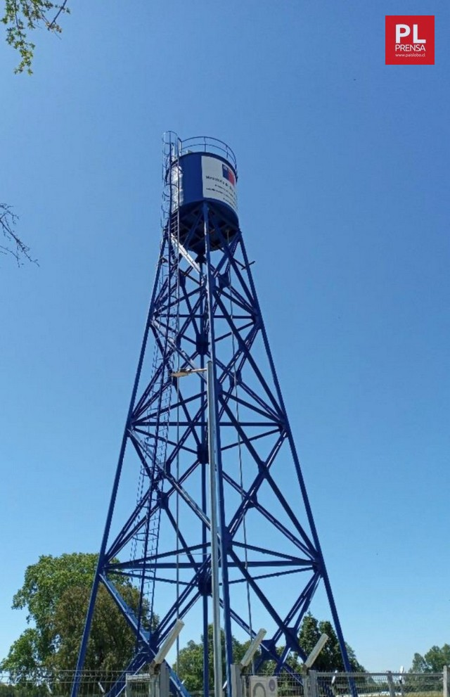 Servicio de agua potable rural en Huentelelfu