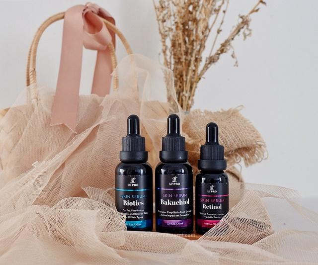 Review LT PRO Skin Serum Retinol, Bakuchiol, dan Biotics. 3 Powerful Serum Terbaru dari Brand Lokal LT PRO!