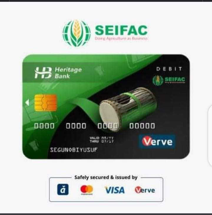 Smallholder Economic Interest Farmers Agricultural Cooperative (SEIFAC) Launches Co-branded Atm Cards, Target 60,000 Farmers