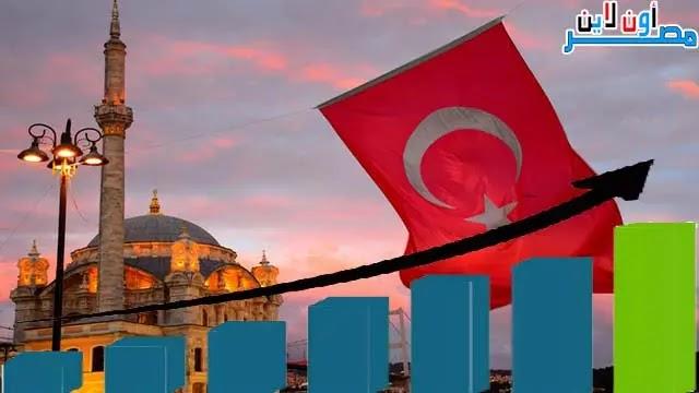 متوسط دخل الفرد في تركيا، دخل الفرد في تركيا، مستوي معيشة الفرد في تركيا