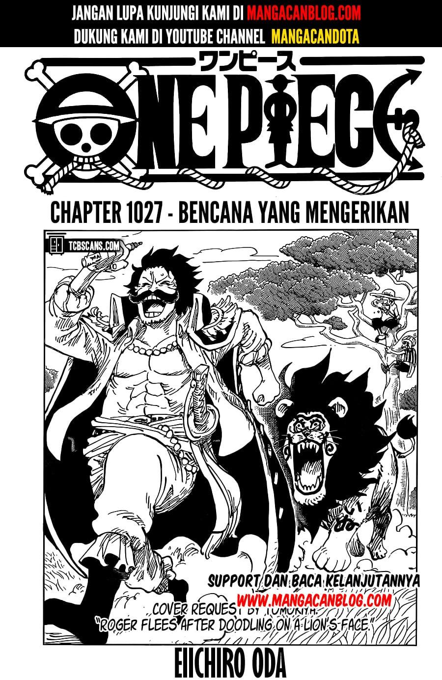 Manga One Piece Chapter 1027 Bahasa Indonesia