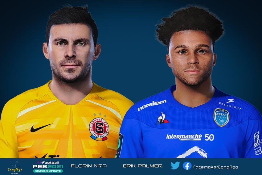 Florin Niță & Erik Palmer-Brown Face For eFootball PES 2021