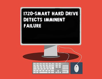 Fix 1720 SMART Hard Drive Detects Imminent Failure
