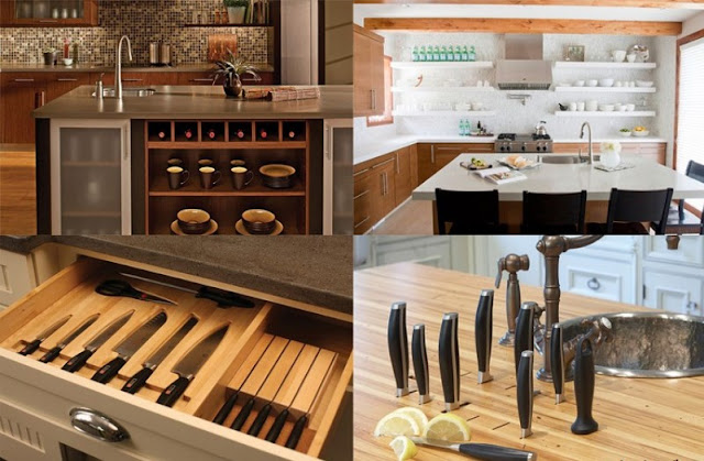 kitchen equipment storage ideas