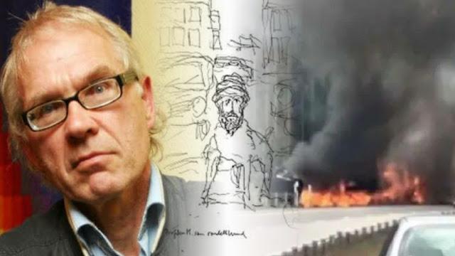 Tewas Ditabrak Truk, Kepala Kartunis Nabi Pernah Dihargai Al Qaeda Rp 1,4 Miliar