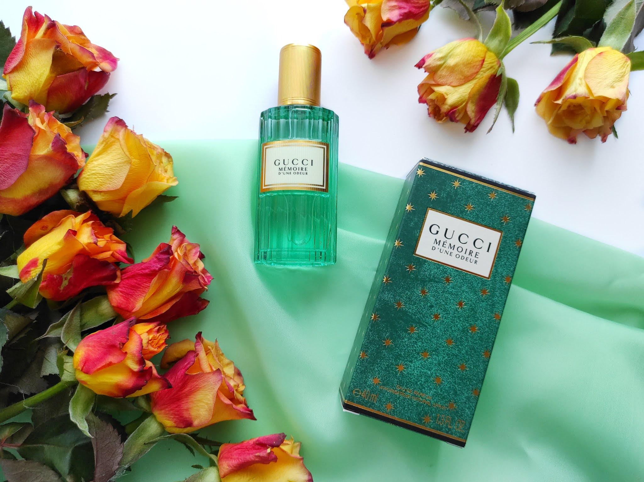 Perfumy Gucci memoire fine odeue