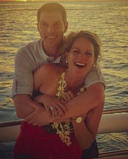 Jamie Yuccas with her ex-boyfriend Bobby